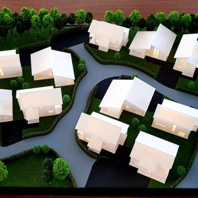 MedTec 3D Printing Model Making Village Design