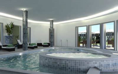 MedTec 3D Design Architectural - Apartment Pool Area