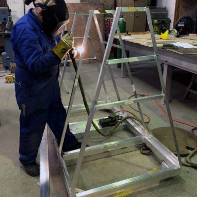 MedTec Bulkhead Trolley Fabrication