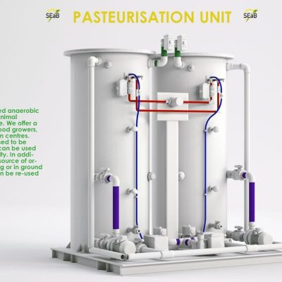 MedTec Design 3D Rendered Pasteurisation Unit