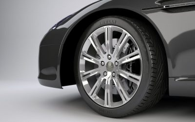 MedTec Design 3D Rendered Car Wheel - Isle of Wight